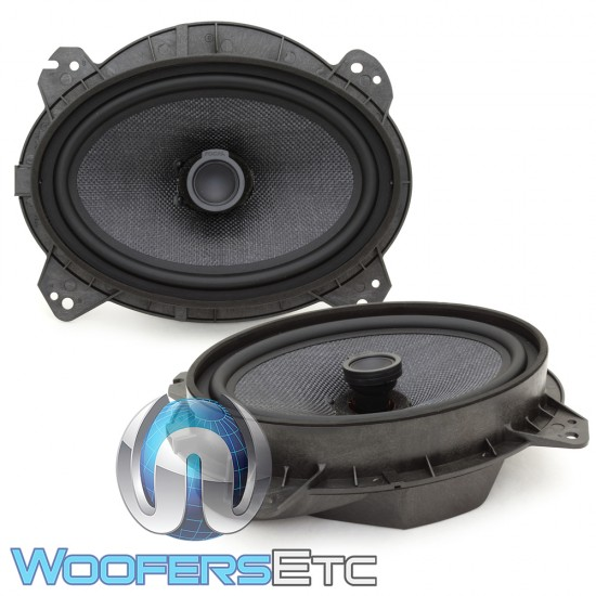 """Focal IC-690TOY 6"""" x 9"""" Direct Upgrade 2-Way Coaxial Speakers for Select Toyota Models"""