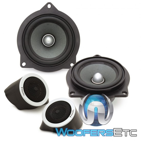 """Focal IFBMW-S 4"""" Direct Upgrade 2-Way Component Speakers For Select BMW Models"""