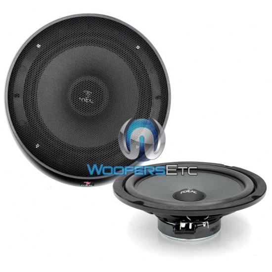 "Focal IS-8 8"" 160W RMS Integration Series Midrange Speakers"