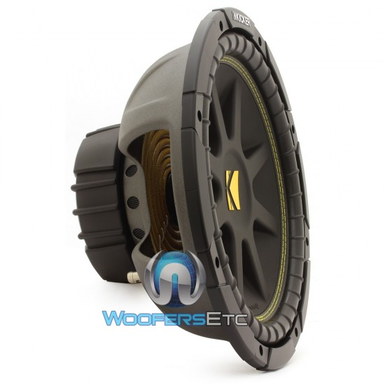 "C12-4 - Kicker Comp 12"" 300 Watt Single 4 Ohm SVC Subwoofer (10C124)"
