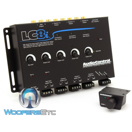LC8i - AudioControl Eight Channel Line Output Converter