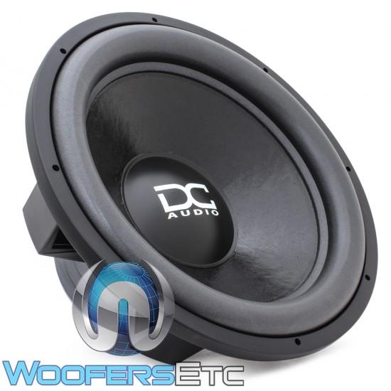 """DC Audio LV4 M2.1 18 D2 18"""" 1400W RMS Dual 2-Ohm Subwoofer"""