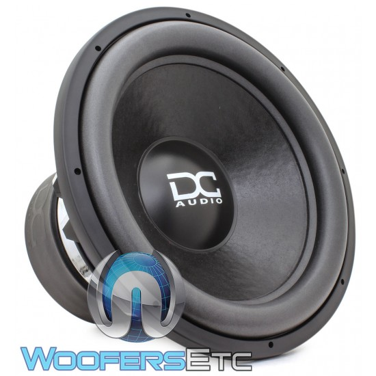 "DC Audio LV5 M5 Elite 18 D1 18"" 3500W RMS Dual 1-Ohm Subwoofer"