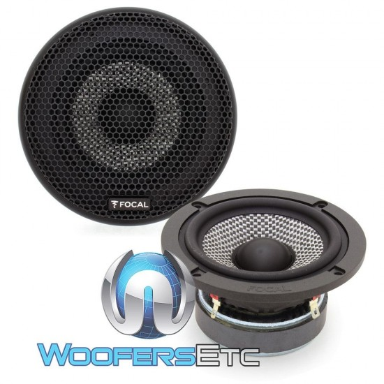 """Focal M/165AS3 3"""" 80W RMS AS Line Midrange Speakers from 165AS3 Component Set"""