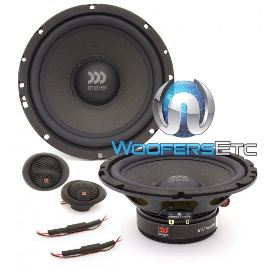 "Morel Maximus 602 6.5"" 60W RMS Component Speakers"