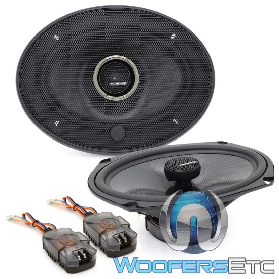 "Memphis MCX69 6"" x 9"" 60W RMS 2-Way MClass Series Coaxial Speakers"