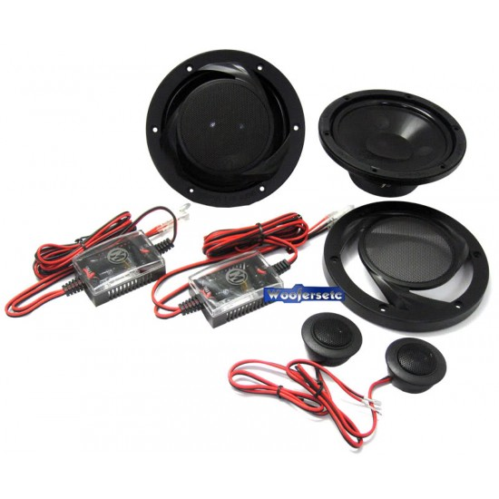 """15-PRS6V2 - Memphis 6.5"""" 2-Way Power Reference Component Speakers"""