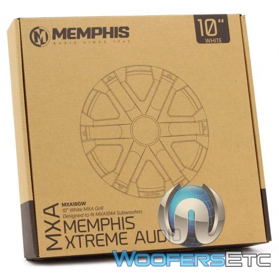 """Memphis MXA10GW 10"""" MXA Marine Subwoofer Grill White"""