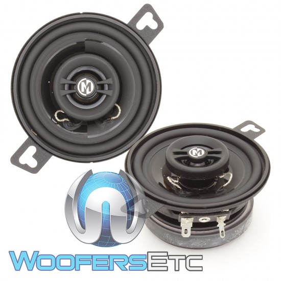 """Memphis PRX3 3.5"""" 15W RMS 2-Way Coaxial Speakers"""