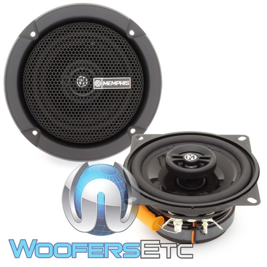"""Memphis PRX4 4"""" 20W RMS 2-Way Coaxial Speakers"""