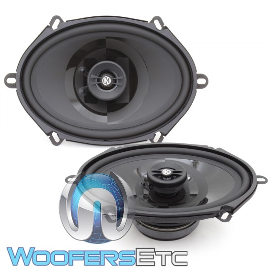 "Memphis PRX57 5"" x 7"" / 6"" x 8"" 40W RMS 2-Way Coaxial Speakers"