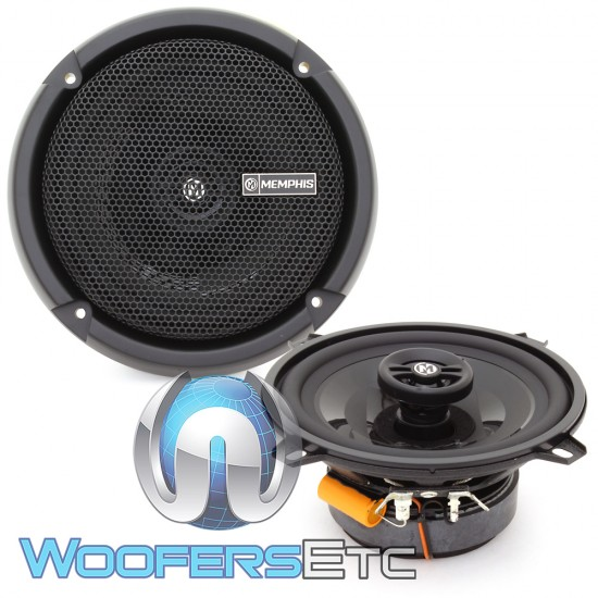 "Memphis PRX5 5.25"" 30W RMS 2-Way Coaxial Speakers"