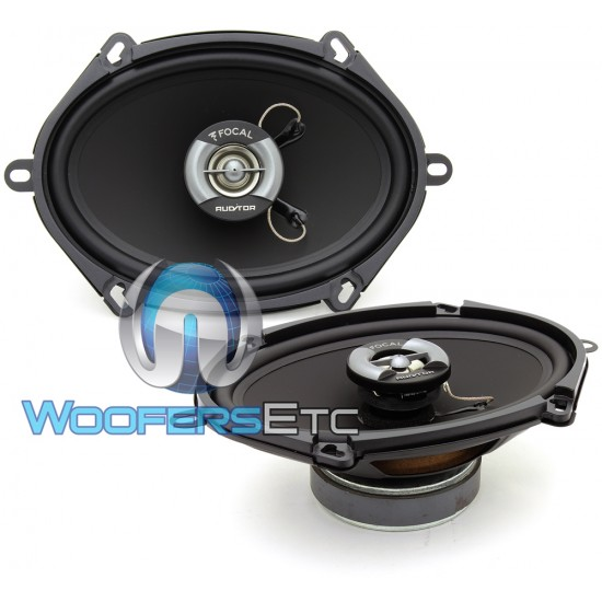 "R-570C - Focal Auditor Series 5"" x 7"" 60W RMS 2-Way Coaxial Speakers"