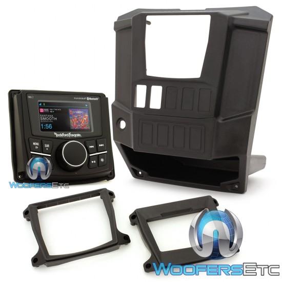 Rockford Fosgate RNGR-STAGE1 Stereo Kit for Select Polaris Ranger