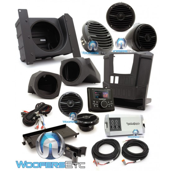 Rockford Fosgate RNGR-STAGE4 400W Stereo, Speaker and