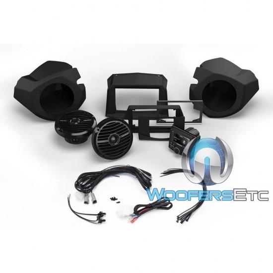 Rockford Fosgate PMX3-UPGR-RZR14-STG2 Audio Upgrade Kit for Select 2014-Up Polaris RZR Models