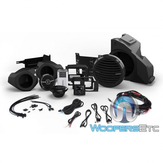 Rockford Fosgate PMX3-UPGR-RZR14-STG4 Audio Upgrade Kit for Select 2014-Up Polaris RZR Models