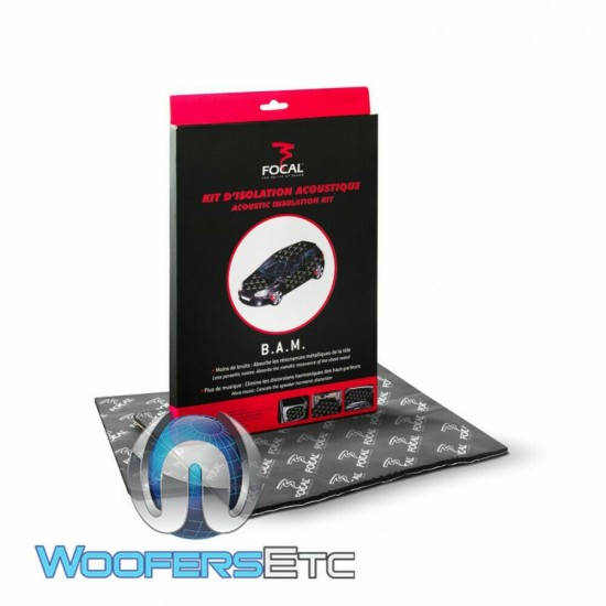 Focal BAM Honeycombed Damping Material Acoustic Insulation Kit ( 2 SHEETS )
