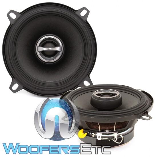 "Alpine S-S50 5.25"" 55W RMS 2-Way Coaxial Speakers"
