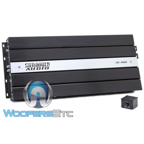Sundown Audio SAE-3000D Monoblock 3000W RMS Class D Amplifier