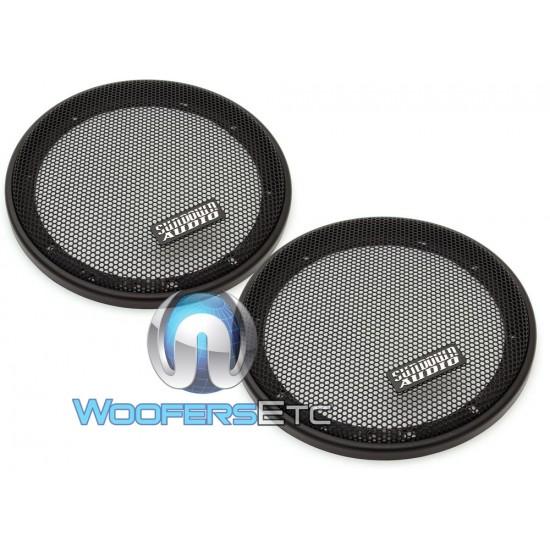 """Sundown Audio 6.5"""" Steel Mesh Grills for SD Series Speakers(Pair)"""