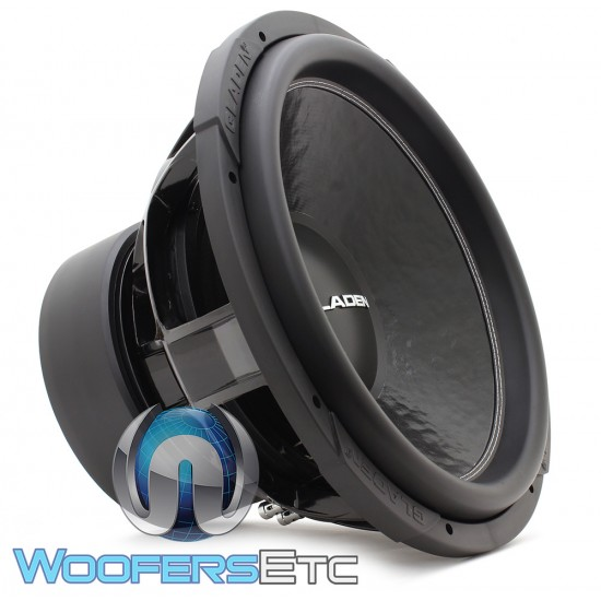 "Gladen SQL15 Extreme 15"" 1400W RMS 2-Ohm Subwoofer"