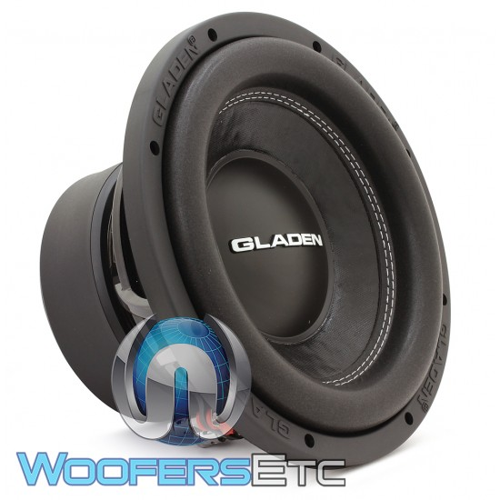 gladen mosconi sqx10 10 350w rms 4 ohm sqx series subwoofer. Black Bedroom Furniture Sets. Home Design Ideas