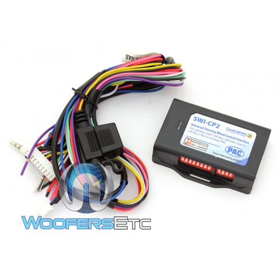 PAC SWI-CP2 Universal Interface for vehicles with CAN Bus, GMLAN, Vlass II, LIN Bus, I-Bus or Analog SWC