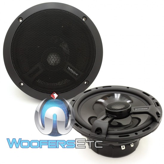 "T1650 - Rockford Fosgate 6.5"" 75W RMS 2-Way Coaxial Speakers"