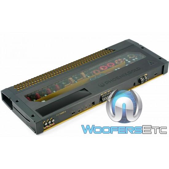 Ti3-1600.6 - Phoenix Gold 6 Channel 1600W RMS Power Amplifier