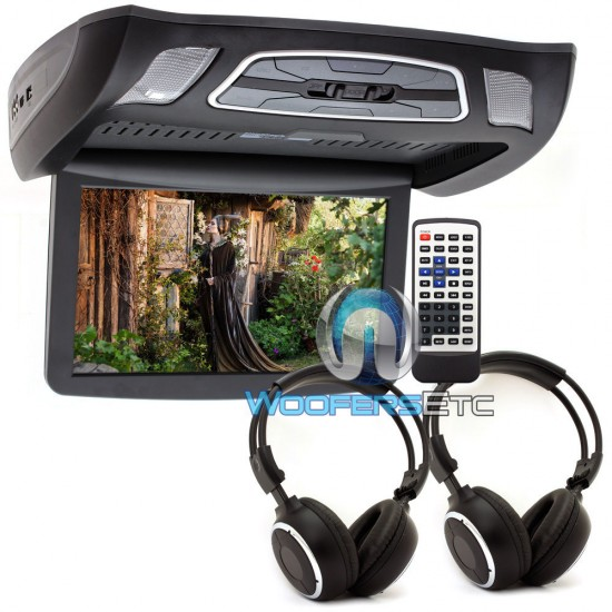 "VCM-103DAC Black - Soundstream 10.3"" LCD High Resolution Ceiling Mount DVD Player"