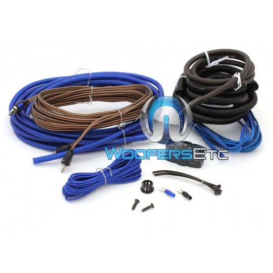 Soundstream WK-40X 4GA Installation Amplifier Wiring Kit