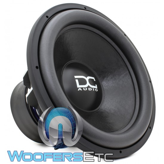 "DC Audio XL M4 ELITE 18 D1 18"" Dual 1-Ohm 2200W RMS Subwoofer"