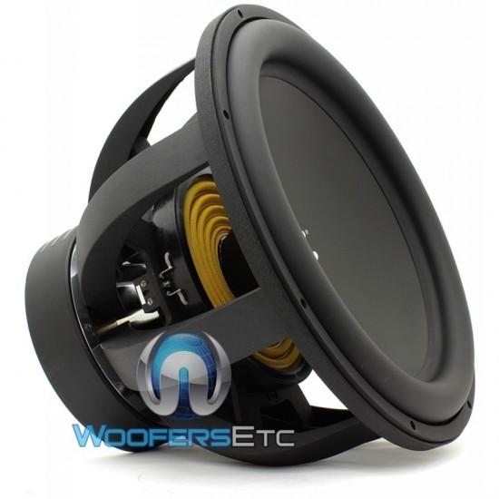 "RE Audio XX15 V2 D4 15"" 1500W RMS Dual 4-Ohm XX Series Subwoofer"