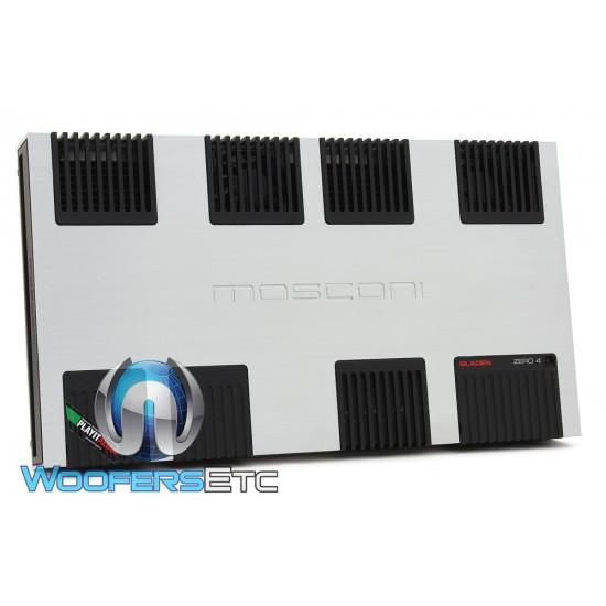 Mosconi Zero 4 4-Channel 1350W 4-Way Hi-End Class AB Amplifier