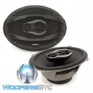 "Hertz MPX690.3 Mille Pro 6"" x 9"" 130 Watts RMS 3-Way Motorcycle Coaxial Speakers"