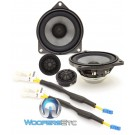 "Rockford Fosgate T3-BMW3 4"" Direct Fit 2-Way Component Speakers System for Select BMW Models"