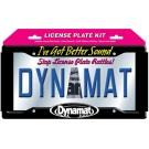 """19100 - Dynamat Xtreme License Plate Kit 4""""x10"""""""