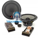 "165 V20 - Focal 6.5"" 70W RMS Polyglass Series 2-Way Component Speakers System"