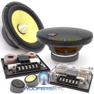 """165KR2 - Focal 6.5"""" 2-Way Component System with TNK Tweeter"""