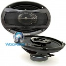 """TS-A6965S - Pioneer 6"""" x 9"""" 400 Watts Max 3-Way Coaxial Speakers"""
