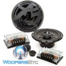 "AS-60C - SPL 6.5"" 100W RMS Gorilla Series 2-Way Component Speakers System"
