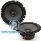 "602 Integra - Morel 6.5"" 110W RMS Tempo Ultra Series 2-Way Coaxial Speakers"