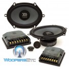 "Tempo Ultra 572 - Morel 5"" x 7"" 110W RMS Tempo Ultra Series 2-Way Component Speakers System"