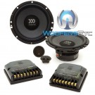 "Tempo Ultra 602 - Morel 6.5"" 120W RMS Tempo Ultra Series 2-Way Component Speakers System"