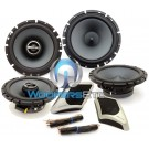 SPT-21GM - Alpine Direct-fit Speaker System for Select 2007-2014 GM Trucks and SUV's Replaces Front and Rear Speakers
