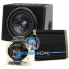 pkg Auditor RIP Line Bass Pack - RIP-2140R  Amplifier +  RIP-250B Loaded Subwoofer Enclosure + Amp Kit