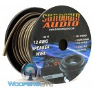 Sundown Audio SPKR12-100 - 100 Ft 12 AWG OFC Speaker Cable (Spool)