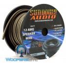 Sundown Audio SPKR12-100 - 100 Ft 12 AWG OFC Speaker Cable (Spool)
