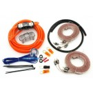 17-4GKIT - Memphis 4 Gauge Amplifier Installation Kit with RCA